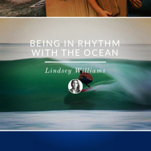 Creator, Lindsey Williams, gives a distinctive conclusion between our relationship with the sea and life.