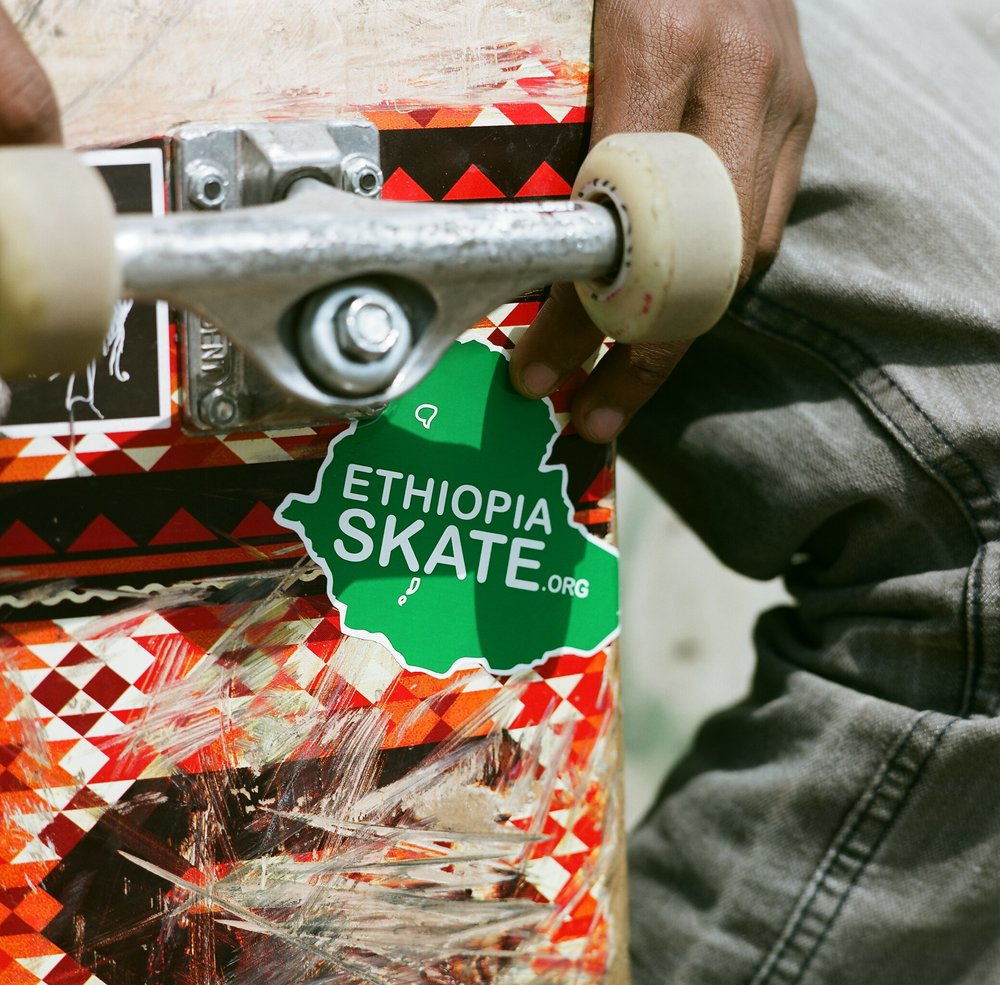 Ethiopia+Skate+Sticker