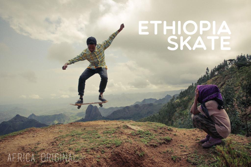 Freedom found within the ride. (PHOTO: ethiopiaskate.org)